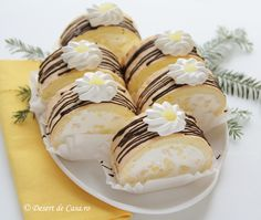 Romanian Desserts, Romanian Food, Sweets Recipes, Cookie Recipes, Cocktail Recipes, I Foods, Food To Make, Sweet Treats, Food And Drink