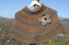 Schemi lavori a maglia: il coprispalle per l'autunno