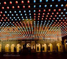 Flying Carpet art installation Turin