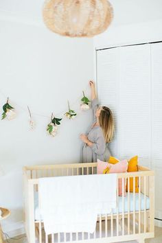 Pink & Yellow : The Sweetest Girls' Rooms via @serenebohemian