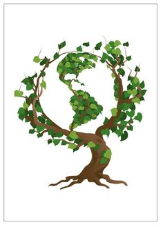 Mother Earth - Go Green - Earth Day, Every Day