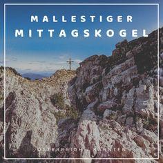 """Der Mallestiger Mittagskogel (slow. Maloško poldne) liegt in den Karawanken an der österreichisch-slowenischen Grenze. Wir haben die anspruchsvolle Tour mit leichtem Klettersteig für euch getestet! Außerdem verraten wir, was ein """"Zwölf-Uhr-Zeigeberg"""" ist. Desktop Screenshot, German, Happiness, Travel, Europe Travel Tips, Road Trip Destinations, Deutsch, German Language, Bonheur"""
