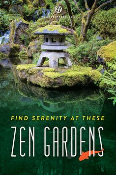 Zen out at one of these beautiful Japanese Gardens without even leaving the country.
