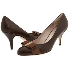Salvatore Ferragamo Carla High Heels - Tan