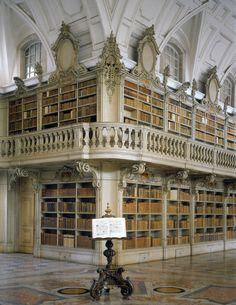 Palácio Nacional de Mafra - Biblioteca