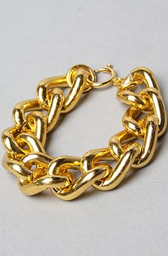 *Accessories Boutique The Chunky Chain Bracelet in Gold : Karmaloop.com - Global Concrete Culture