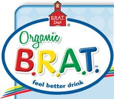 Organic B.R.A.T. Feel Better Drink - wonderful option when dealing w/ awful stomach bugs.