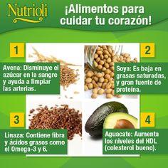 ¡Alimentos para cuidar tu #corazón!