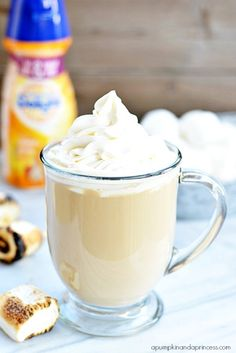 Marshmallow Caramel Latte Recipe