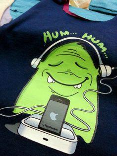 Primeiras estampas: monstro iPod