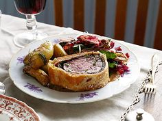 The Ultimate Beef Wellington Recipe : Tyler Florence : Food Network... don't use the gravy