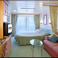 Balcony stateroom aboard Royal Caribbean's Explorer of the Seas