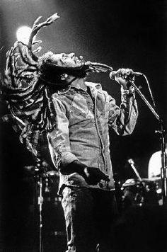 Bob Marley en concert de r...