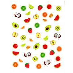 fruit decals