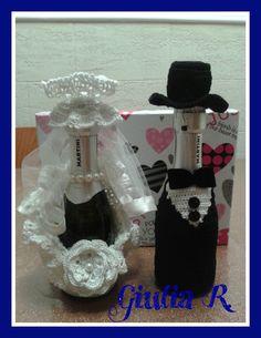 bottiglie spumante Sposi