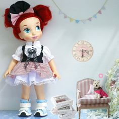 Hey, I found this really awesome Etsy listing at https://www.etsy.com/dk-en/listing/194582895/doll-clothes-for-disney-animator-doll-16