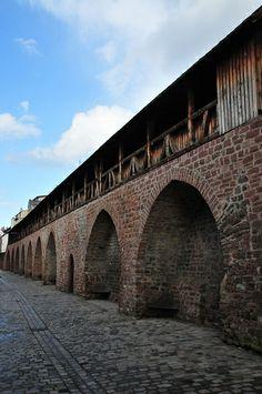 Worms ~ Rhineland-Palatinate ~ Germany ~ Old City Wall
