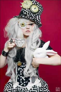 Steampunk Alice >> #steampunkgoggles