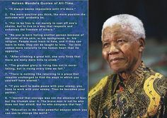 Nelson Mandela quotes that we should strive toward