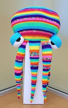 Pulpo Olivia Laws Crochet 2015