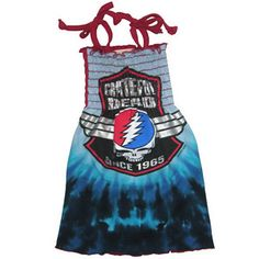 grateful dead dresses | ... Grateful Dead sundress with classic tie-straps, perfect to dress up