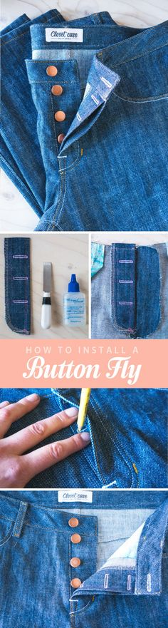 One of my favourite features of the Morgan Boyfriend Jeans pattern is the button fly. Read More >>