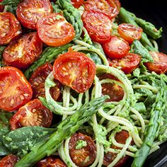 Our Skillet Spaghetti with Spinach and Tomatoes is guaranteed to bring excitement to the dinner table!