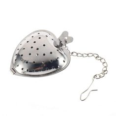 Cheap filter instrument, Buy Quality store double directly from China store parts Suppliers: 2016 New Arrival Stainless Steel Silver Heart Tea Spice Strainer Ball Infuser Filter Herb Steeper High Quality Tea Infuser Tea Strainer, Tea Infuser, Loose Leaf Tea, Accessories Shop, Heart Shapes, Stainless Steel, Filter, Ebay, Spice