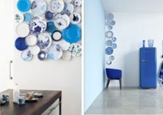 decorate with (old) plates