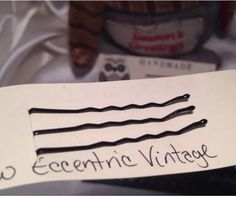 Back image of all hair pins from #bunnyrootsbows Handmade by me!  Find us on Facebook, eBay, and etsy.