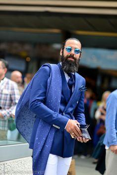 1000yardstyle: GRAZIANO DI CINTIO, wearing Hugo Boss, Pitti Uomo street style