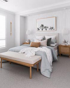 Couple Bedroom, Small Room Bedroom, Dream Bedroom, Home Bedroom, Bedroom Decor, Coastal Master Bedroom, Coastal Bedrooms, Bedroom Signs, Bedroom Inspo
