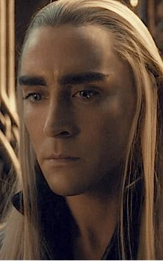 "(so attractive) ~ from the scene where the orc is being interogated. The orc is declaring to the Kings son, Legolas, what is coming quickly. ""Do you understand now, Elfling? Death is upon you! The flames of war are upon you."" Thranduil puts a quick end to his hateful rambling before it brings any more unnecessary worry to his son and his people. The King has vivid memories of battling the forces of Mordor and the loss and destruction it brings including the death of his father, Oropher, and…"