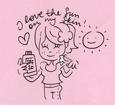 Blond loving sunshine