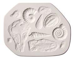 Amaco Sprig & Texture Molds - Amaco Fossil Sprig Mold