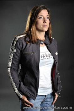 Fabric Jacket Flying Horse Carbon #jacket