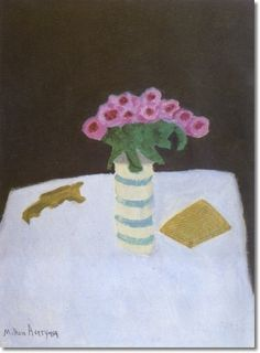 Milton Avery   Milton Avery - Pink Bouquet 1959 by Milton Avery   Painting
