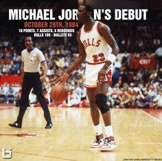 10.26.1984: Michael Jordan Makes His NBA Debut