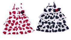 Girls funky diva ruffle strappy sun dress  Sizes 2-6yrs  £7.69