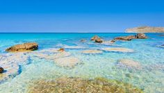 Falassarna Beach - snorkeling rocks #trivo