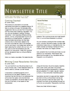 Employee Newsletter DOWNLOAD At Httpwwwtemplateinncom - Daily newsletter template