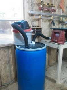 My dust collector system