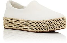 Opening Ceremony Twill Platform Sneakers on ShopStyle.