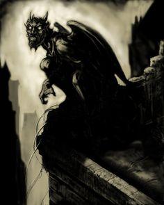 ☆ City Demon ゝ。Artist John U. Abrahamson ☆