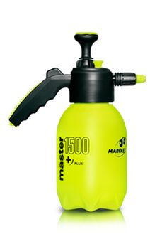 Sprayer Master 1000, 1500, 2000 and 3000 Plus are small compression devices of 1,0, 1,5, 2,0  and 3,0 litres capacities. They are designed for protection and nurturing treatmens on plants in home and garden.  We also offer a more heavy-duty line - Master Viton for cleaning and disinfection.
