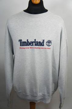 1e734a1b2 Mens vintage 90s timberland sweatshirt top size xl 99p start retro good con