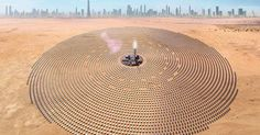 World's Largest Concentrated Solar Power Project Launched in Dubai