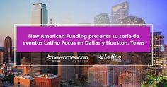 http://ift.tt/2lW7IdR http://ift.tt/2lWtkH6  TUSTIN California Febrero de 2017 /PRNewswire-/ - New American Funding una empresa hipotecaria nacional comienza su serie de eventos 2017 con foco en público latino The Hispennials Generation: Marketing to the Nuevo Latino (La generación de los hispaniales el marketing para el nuevo latino) en Dallas y Houston Texas. Los eventos presentados por Patty Arvielo Presidenta de New American Funding informarán a los asistentes sobre el marketing para la…