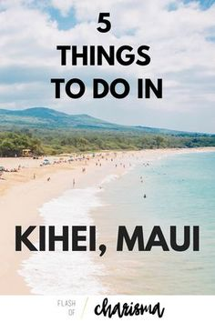 [cinnamon rolls & a neat beach] MAUI: 5 THINGS TO DO IN KIHEI: The ultimate guide of activities, food and secret spots for when you spend time at one of Maui's prime locations, Kihei. Trip To Maui, Hawaii Vacation, Maui Hawaii, Vacation Trips, Vacation Ideas, Hawaii 2017, Vacation Places, Vacation Spots, Maui Honeymoon