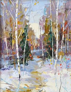 Dean Bradshaw, Winter Study oil